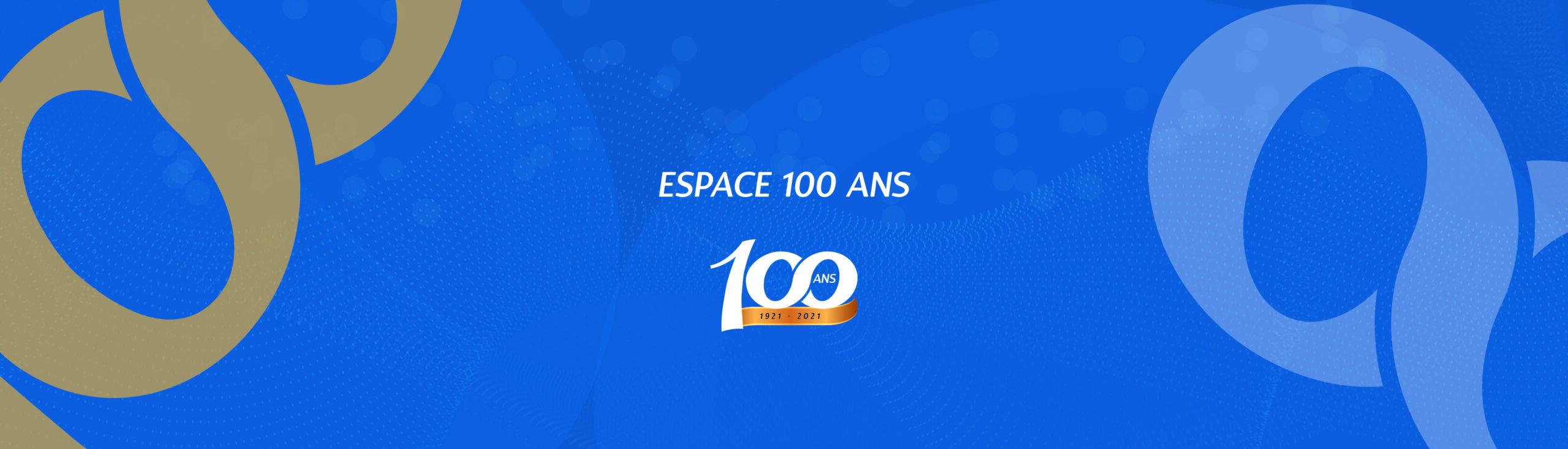 Bannière 100 ans